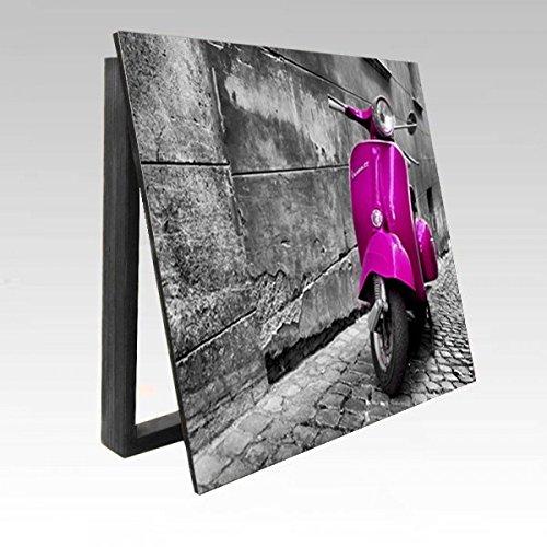 molduras-y-cuadros-garcia-cubrecontador-lmina-vespa-rosa-en-roma-madera-color-roble-tamao-43x33x4