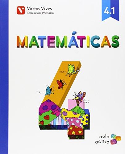 Matematicas 4 (4.1-4.2-4.3) Aula Activa - 9788468228815 por Javier Fraile Martin