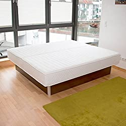 bellvita Waterbed including delivery FREE selectable size, color stabilization, wenge,180 cm x 200 cm