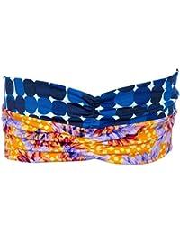 Maaji - Bandeau pour cheveux beach turban imprimé multicolore