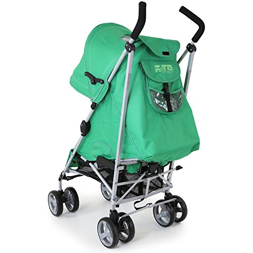 ZeTa Vooom Baby Stroller Leaf (Complete with Buddy Jet Footmuff)