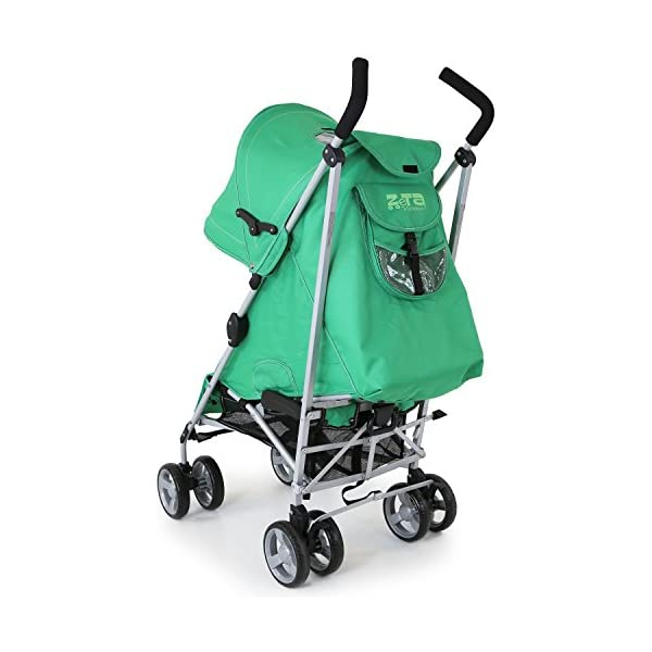 ZeTa Vooom Baby Stroller - Leaf (Green) ZETA Zeta Vooom Will Exceed You Expectations! Over 70,000 Thousand Parents Just Like You Own The Zeta Vooom And Have Rated It As The Best Stroller They Have Ever Had! Unique Drop Down Hood (Copy Right Protected), Superb Quality Product! The Best Money Can Buy! Better Than Any Pushchair In Its Class! Complete With FREE Rain Cover, Suitable From Birth 5