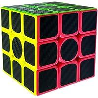 COOJA Cubo Magico 3x3 Speed Cube, Cubo Carbono 3D Puzzle Cube Regalos para Niños Adultos - Peluches y Puzzles precios baratos