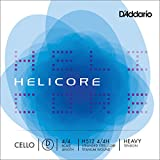 D\'Addario Bowed Corde seule (Ré) pour violoncelle D\'Addario Helicore, manche 4/4, tension Heavy