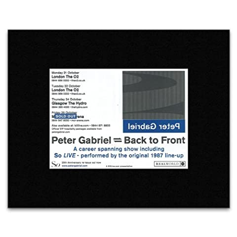 PETER GABRIEL - At The O2 & The Hyrdo 2013 Matted Mini Poster - 21x13.5cm