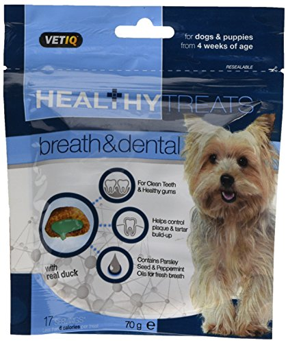 Mark & Chappell – Healthy Treats – Breath & Dental Treats For Dogs & Puppies – 70g