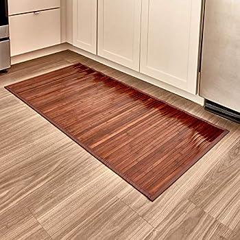 marron clair iDesign tapis de bain salle de bain ou ...