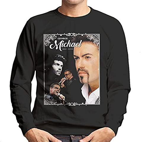 George Michael 1963-2016 Tribute Men's Sweatshirt