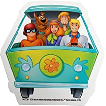 Hanna Barbera Scooby Doo Mystery Machine, Officially Licensed Original Artwork, Long Lasting STICKER PEGATINA DECAL
