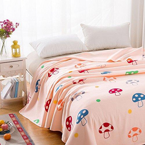 SQL Cotton Baumwolle Sommer gedruckt war im Sommer Klimaanlage kühl war komfortablen Einzel- oder Doppel . fairy cave . 70*120cm