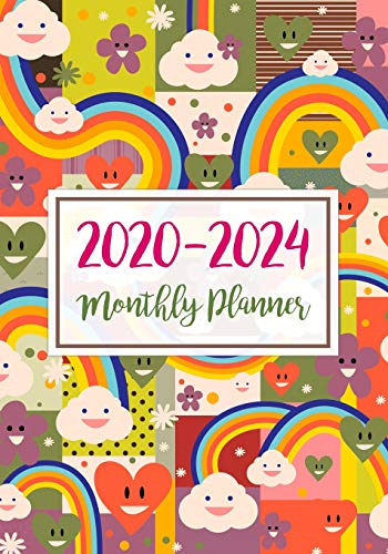 2020-2024 Monthly Planner: Five Years Monthly Calendar Planner (60 Months) For To Do List Journal Notebook | Academic Schedule Agenda Logbook Or ... Monthly Calendar Planners Holidays, Band 10)