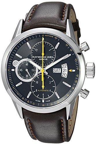 Raymond Weil 7730-STC-20021 - Reloj de pulsera hombre, acero inoxidable, color Marrón
