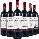 Château Rousset-Caillau AOP Bordeaux Supérieur Rouge - Carton de 6 bouteilles (75cl) 2014