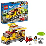 LEGO City - Le camion pizza - 60150 - Jeu de Construction