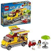 Lego 60150Preparati a servire i clienti affamati con il Furgone delle pizze City, dotato di lati apribili e spazio cucina, tavolo con ombrellone, scooter e due minifigure.Specifiche:AttivitàMattoncini e CostruzioniLineaCostruzioniBrandCityNon adatto ...