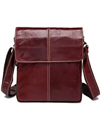 New Men Bag Fashion Leather Crossbody Bag Shoulder Men Messenger Bags Small Casual Designer Handbags Man Bags - B07B268LSL