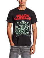 Black Sabbath Men's Bloody Sabbath Cutout Short Sleeve T-Shirt