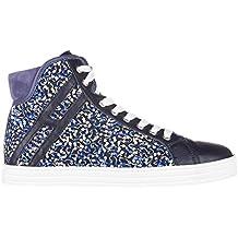 Hogan Rebel Sneakers Alte Donna Viola 4754c1624b5