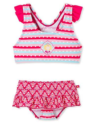 Schiesser Mädchen Prinzessin Lillifee Bustier-Bikini Badebekleidungsset, Mehrfarbig (Multicolor 1 904), (Herstellergröße: 140)