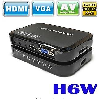 Abaobao Portable Mini Full HD 1080p H6w Media Center Multimedia Player Supports USB Host