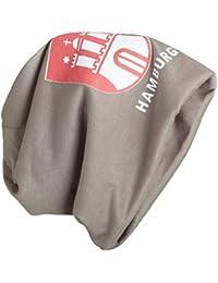 BRUBAKER Unisex Slouch Beanie Mütze Strickmütze mit Hamburg Logo
