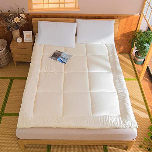 zlzty Memory Foam Matratze Topper Einzelbett, Tatami
