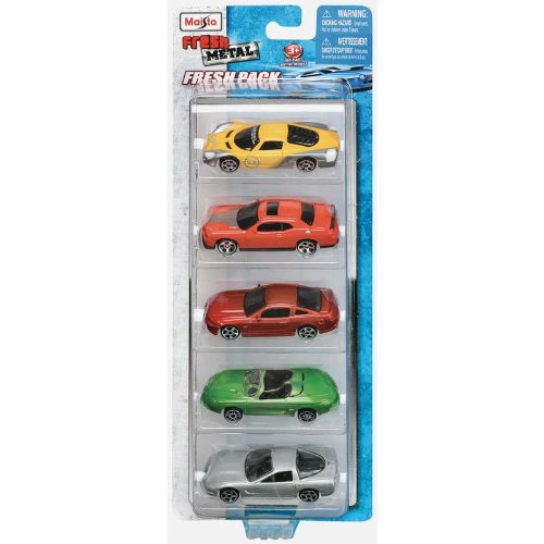 Maisto 15017 - Set da 5 automobiline, scala 1:64