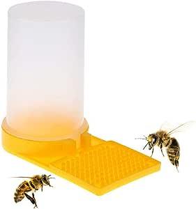 10x Kunststoff Bee Feeder Wasser Trinken Imkerei Bienenstock Fütterungs werkzeug