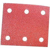 10x Schleifpapier für Schwingschleifer 115mmx280mm 10-Löcher Körnung 150