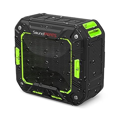 SoundPEATS Enceinte sans fil sport, Haut Parleur bluetooth puissant étanche pour le sport ( Main libres, Bluetooth Version 4.1, Classement IP65 ) – P2