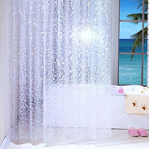 Cortinas de ducha transparentes