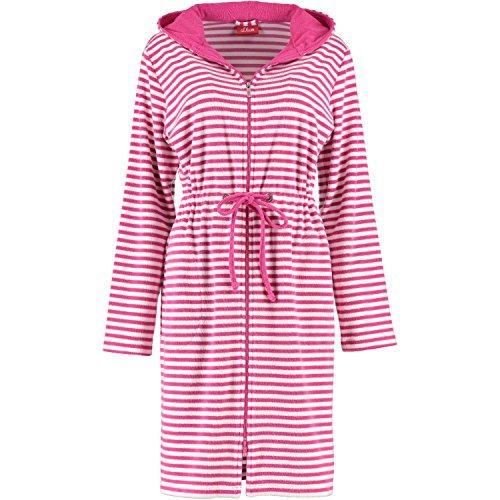 dames s.Oliver peignoir rayé zipper cordon - sélection des couleurs: Colour: Navy | Size: Large rose bonbon
