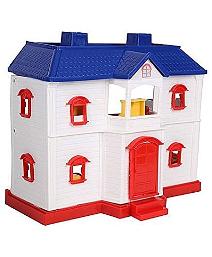 smiles creation Country Doll House Set - White Toy For Kids