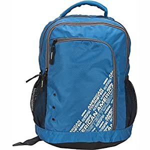 American Tourister Code 2 Blue and Silver Casual Backpack (76T (0) 51 002)
