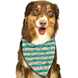 nxnx Coffee Bean Candy Food Sweets Triangle Bandana Scarves Accessories for Pet Cats and Dogs -...