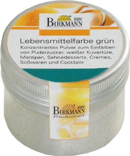 Birkmann 503045 Lebensmittelfarbe, 10 g konzentriertes Pulver, grün (Lebensmittel Grüne)