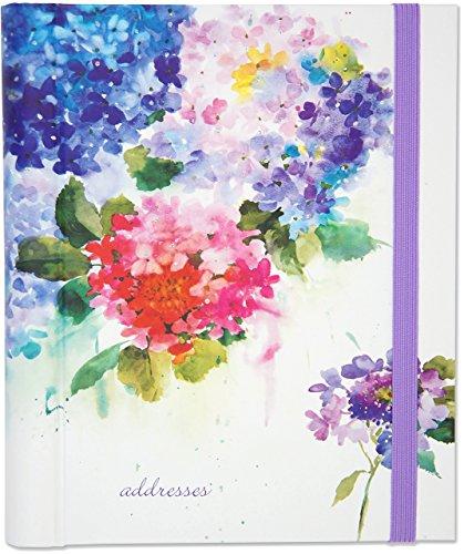 Hydrangeas Large Address Book (Telefonnummer Kontakt Für Amazon)