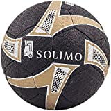 Amazon Brand - Solimo Hand-Stitched Rubber Football, Size 5
