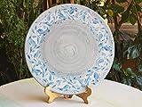 Sottopentola in ceramica siciliana. Poggiapentola in ceramica artistica decorata a mano. Le ceramiche di Ketty Messina.