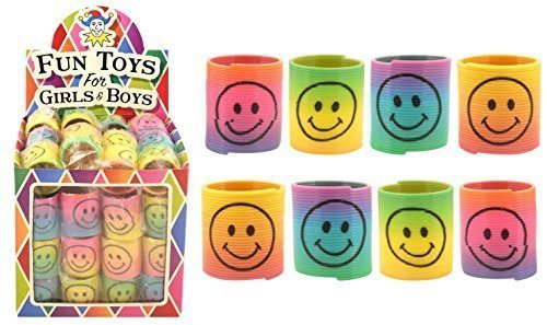 rainbow-smiley-face-springs-box-of-60-bulk-wholesale-childrens-party-bag-favour-filler-fete-lucky-di