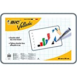 BIC VELLEDA  Dry Wipe White Board 60 x 90cm Double-sided board