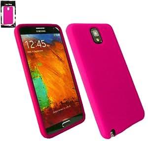 Emartbuy ® Samsung Galaxy Note 3 Silikon Skin Cover / Schutzhülle Rosa