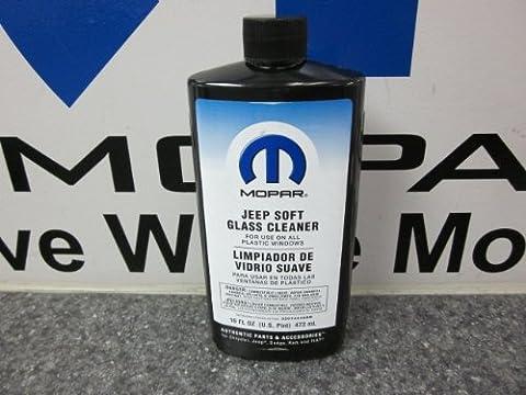 JEEP WRANGLER SOFT TOP GLASS WINDOW CLEANER MOPAR 16 OZ by Mopar