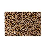 Lola Home Felpudo de Animal Print de Fibra de Coco de 60x40 cm