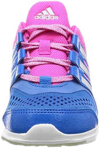 adidas Jungen Hyperfast 2.0 K Turnschuhe Azul (Azuimp / Plamat / Rosimp)