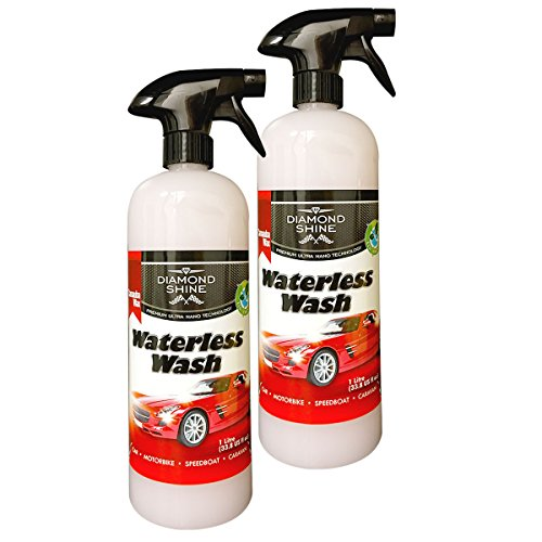 waterless-wash-and-wax-car-cleaner-2-x-1-litre-by-diamond-shine-system-make-your-vehicle-look-like-b