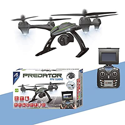 Drone Predator FPV 5.8Ghz by ARTESANÍA LATINA