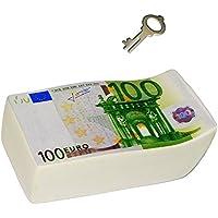 Preisvergleich für alles-meine.de GmbH Große Spardose - Bündel mit 100 - Euro - Scheine - Incl. Schlüssel und S..