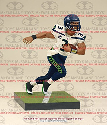 McFarlane NFL Series 35 RUSSELL WILSON  3 - Seattle Seahawks Sports Picks  Figure d67a51861b5