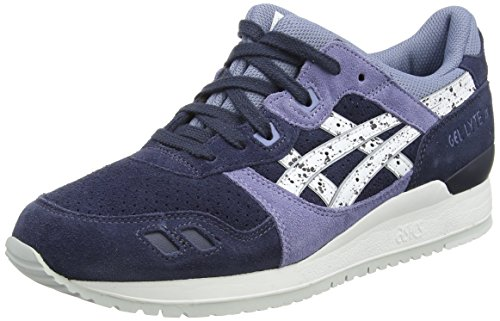 Asics Gel-lyte Iii, Sneakers basses mixte adulte Bleu (indian Ink/white 5001)